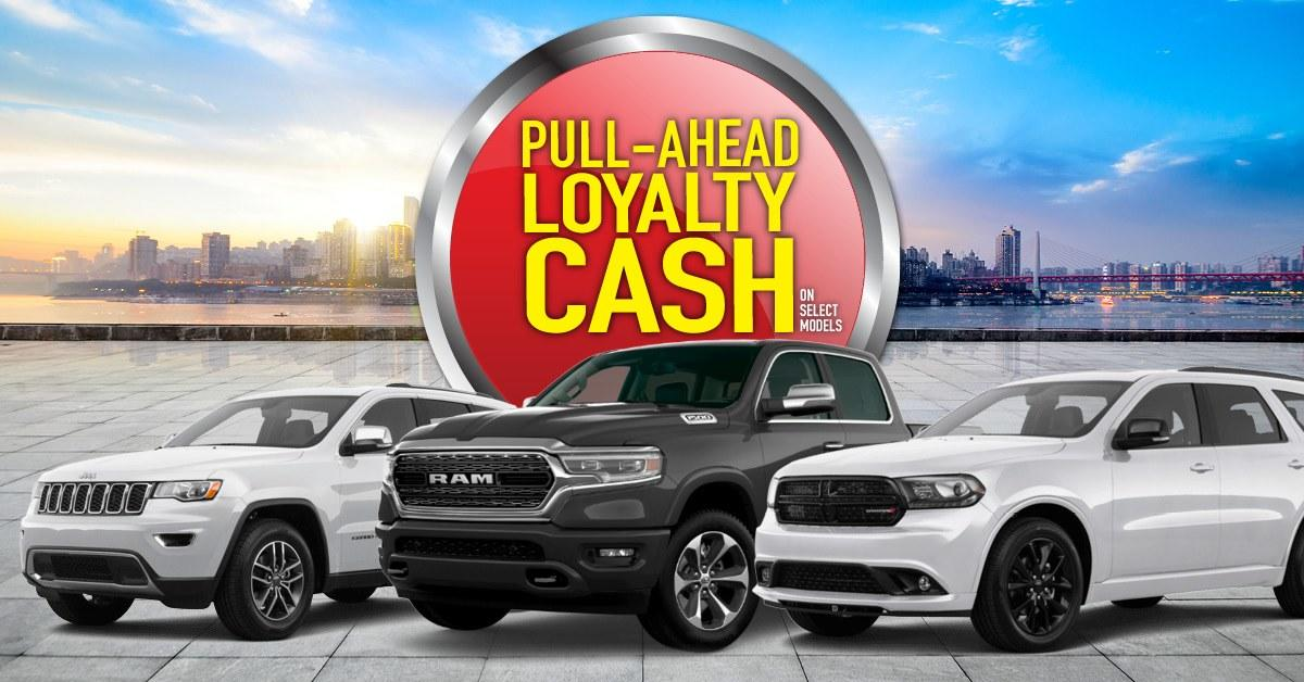 Pull Ahead Offer at Airdrie Chrysler Dodge Jeep Ram